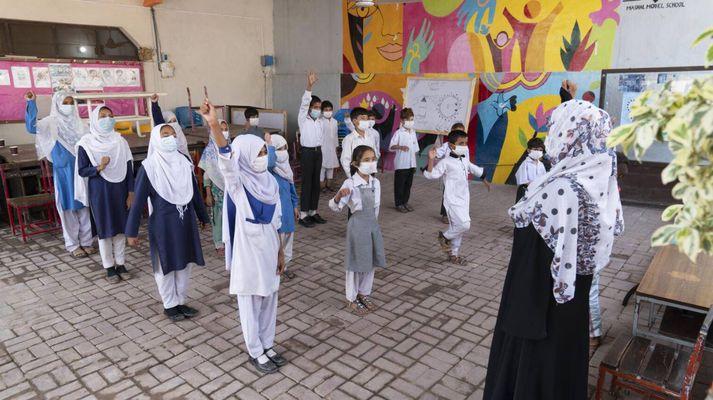 Mashaal skólinn í Pakistan.