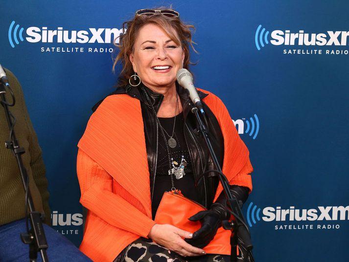 Roseanne Barr tísti svívirðingum um að Valerie Jarrett, fyrrverandi ráðgjafi Barack Obama, væri api.