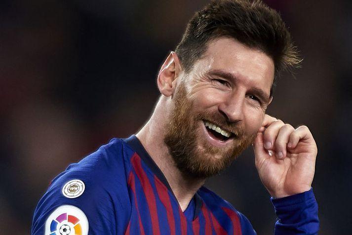 Lionel Messi er án efa í hópi bestu knattspyrnumanna allra tíma.