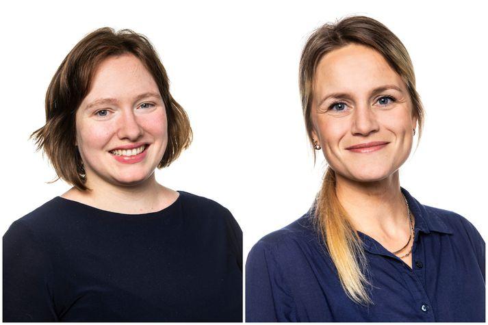 Kamma Thordarson og Birta Kristín Helgadóttir eru nýráðnir verkefnastjórar hjá Grænvangi.
