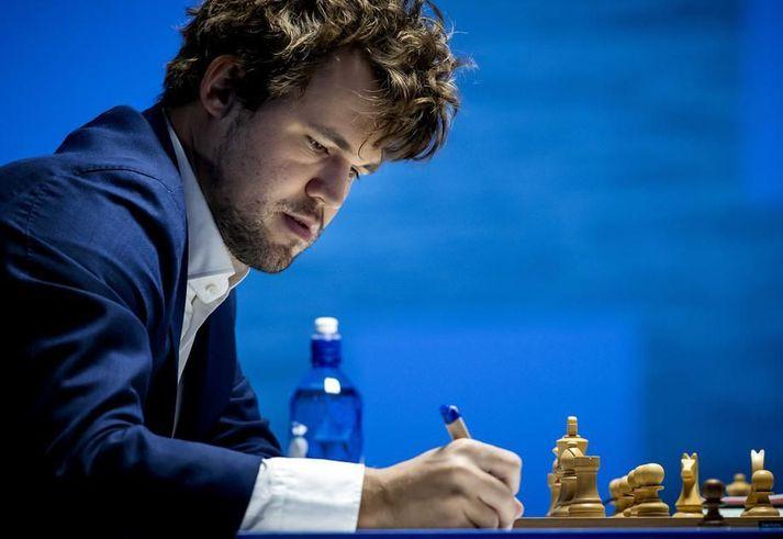 Magnus Carlsen, heimsmeistari í skák.