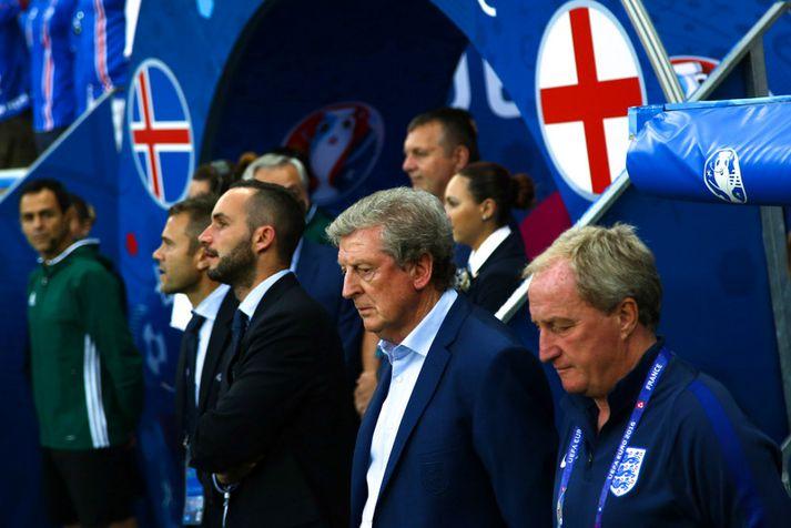Roy Hodgson í Nice 27. júní 2016.