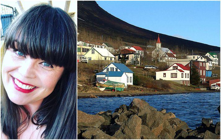 Kristborg Bóel Steindórsdóttir hefur lengi látið sig málefni fráskilinna varða. Hún gagnrýndi þátttökureglur á stærstu skemmtun Fáskrúðsfirðinga harðlega á Facebook-síðu sinni í gær.