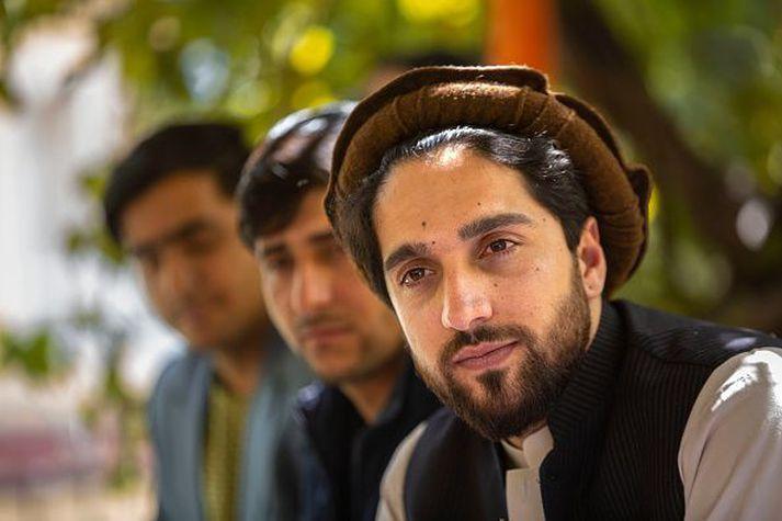 Ahmad Massoud, talsmaður andspyrnuhreyfingarinnar í Panjshir-dal, segir að baráttan gegn Talibönum muni halda áfram.