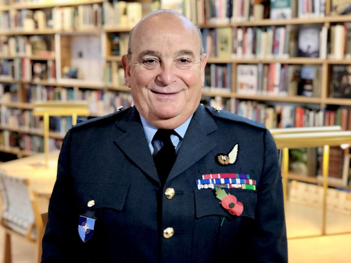 Sir Stuart Peach, formaður hermálanefndar NATO.