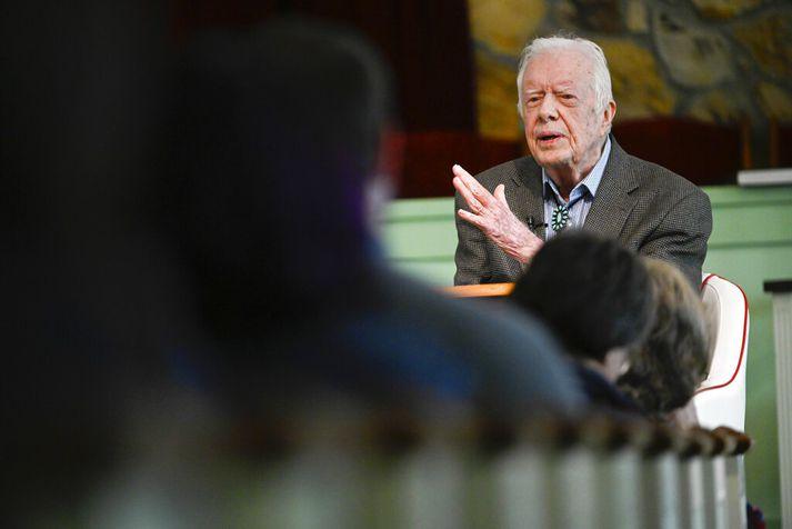 Jimmy Carter gegndi embætti forseta Bandaríkjanna á árunum 1977 til 1981.