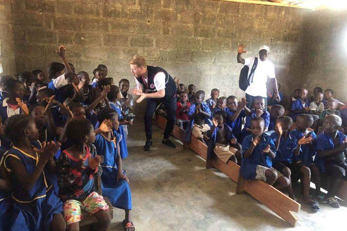 Ljósmynd frá Síerra Leone.