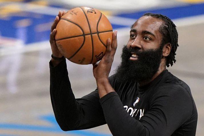 James Harden er búinn að taka yfir hjá Brooklyn Nets í fjarveru hinna stórstjarna liðsins.