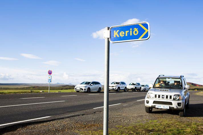Gjaldtaka við Kerið í Grímsnesi skilaði Kerfélaginu samtals 113 milljónum í tekjur í fyrra.