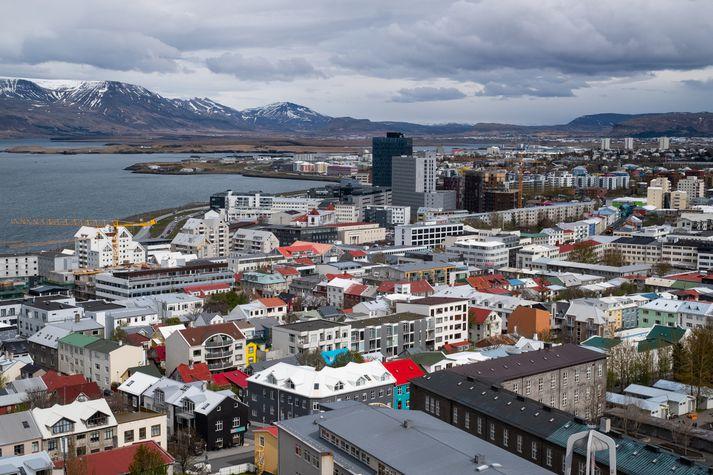 Íbúar höfuðborgarsvæðisins fundu margir fyrir skjálftanum.