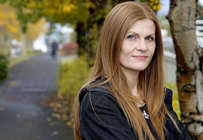 Alma Ómarsdóttir er formaður Félags fréttamanna.