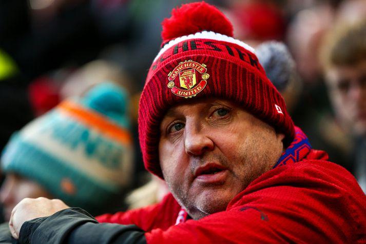 Stuðningsmenn Manchester United eru mjög ósáttir með rekstur félagsins í dag.