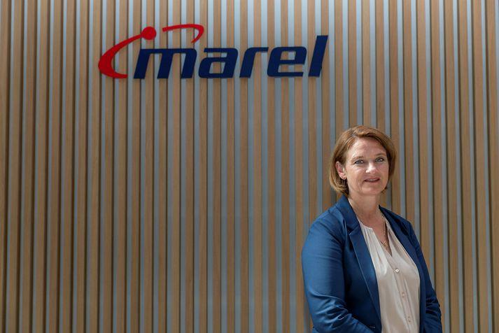 Valdís Arnórsdóttir hjá Marel.