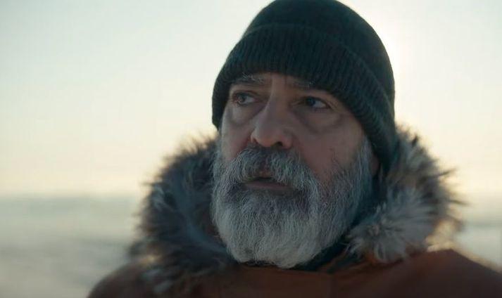 George Clooney var hér á landi haustið 2019.