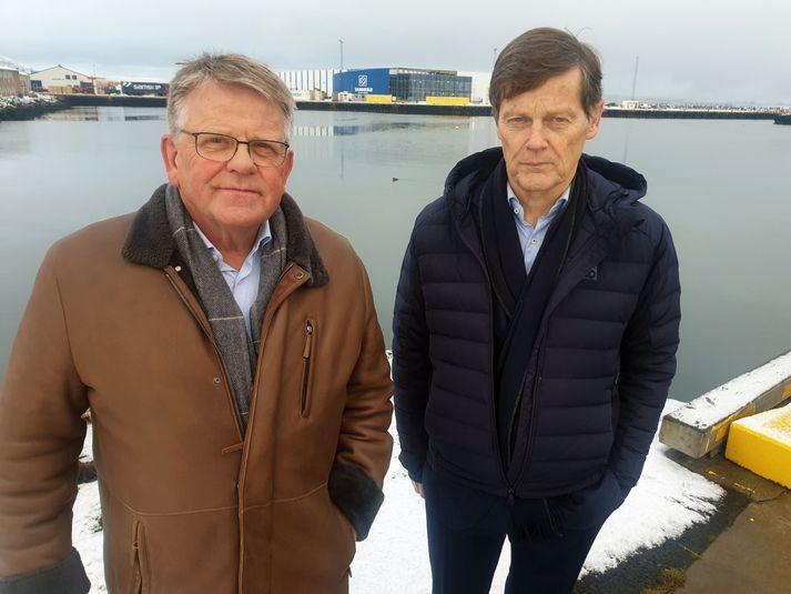 Björgólfur Jóhannsson og Þorsteinn Már Baldvinsson.