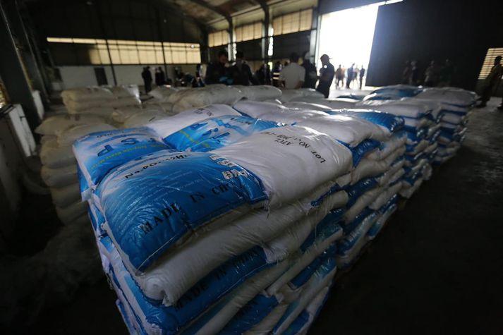 Lögregluþjónar töldu sig hafa lagt hald á 11,5 tonn af ketamíni. Svo reyndist ekki.