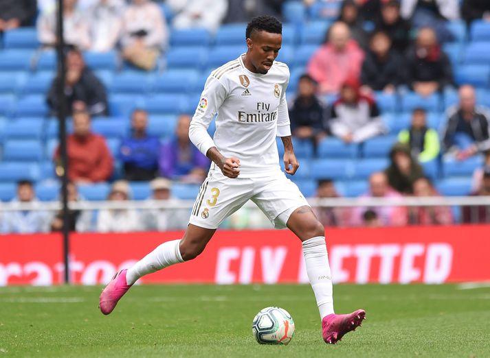Eder Militao í leik með Real Madrid.
