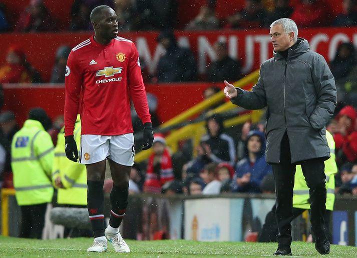 Lukaku lék undir stjórn Mourinhos hjá Manchester United og einnig til skamms tíma hjá Chelsea.