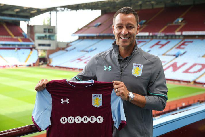 John Terry er nýr fyrirliði Aston Villa