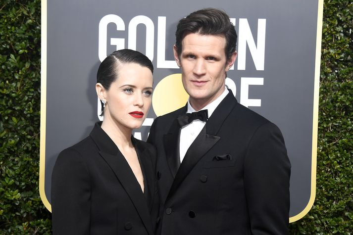 Claire Foy og Matt Smith.