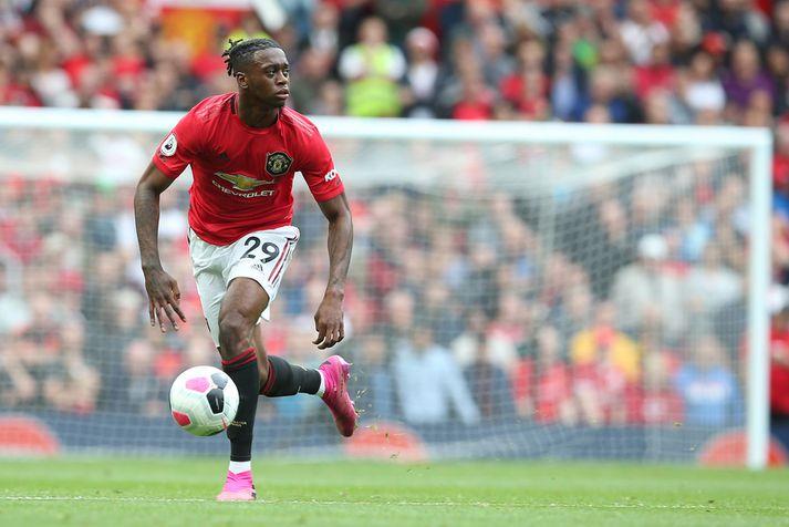 Aaron Wan-Bissaka var frábær í fyrsta leik með Manchester United.