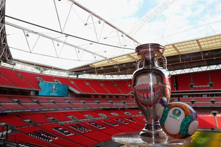 Wembley leikvangurinn.