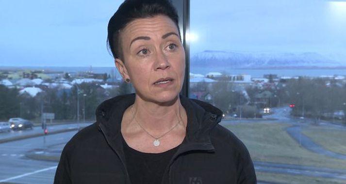 Helena Ólafs ræddi við Rikka G um stöðu Jóns Þórs Haukssonar, landsliðsþjálfara kvenna.