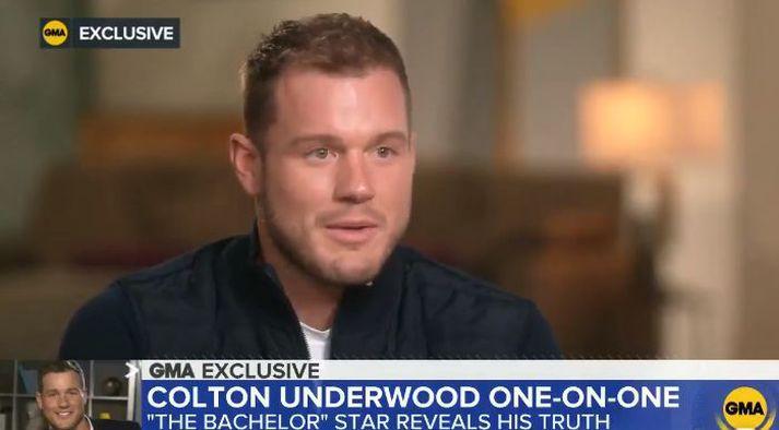 Colton Underwood opnar sig í einlægu viðtali.