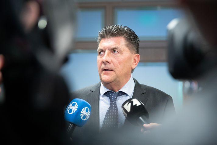 Haraldur Johanessen ríkislögreglustjóri.