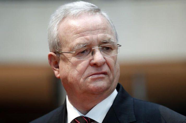 Martin Winterkorn gegndi embætti forstjóra Volkswagen á árunum 2007 til 2015.