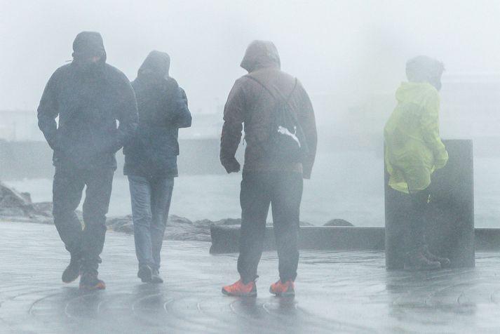 Ekkert ferðaveður er á Suður- og Vesturlandi í dag.