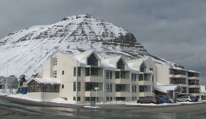 Hjúkrunarheimilið Berg í Bolungarvík þar sem smit hafa komið upp bæði hjá íbúum og starfsfólki.