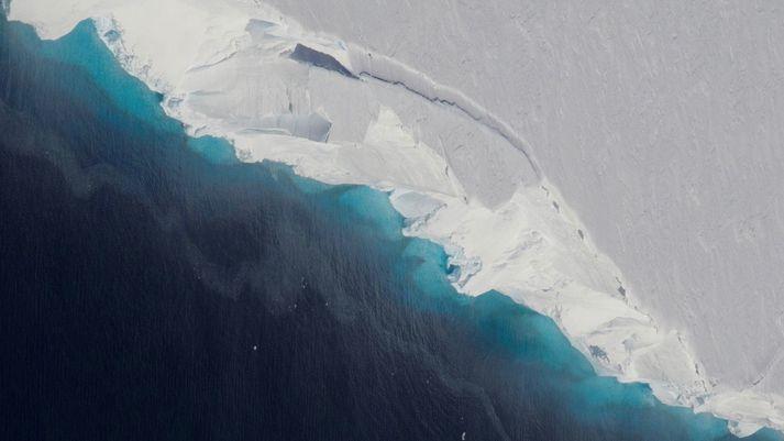 Thwaites-jökullinn á Suðurskautslandinu er risavaxinn og afskekktur. Erfitt hefur reynst að gera beinar mælingar á ísnum þar fram til þessa.