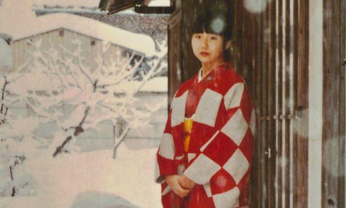 Megumi Yokota var rænt af norður-kóreskum leyniþjónustumönnum árið 1977. Afdrif hennar eru ennþá ókunn.
