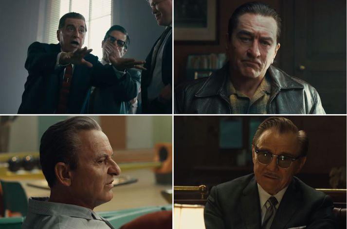 Styttist í The Irishman úr smiðju  Martin Scorsese.