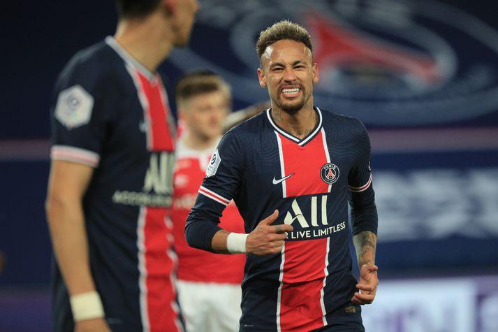PSG vann 4-0 sigur í kvöld en þurfa enn að treysta á tap eða jafntefli hjá Lille í lokaumferðinni.