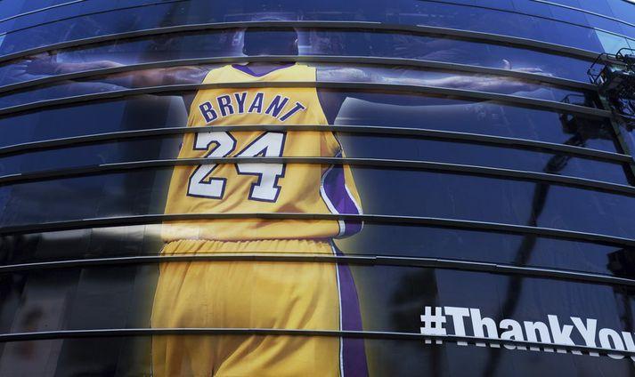 Goðsögnin Kobe Bryant er fallinn frá.