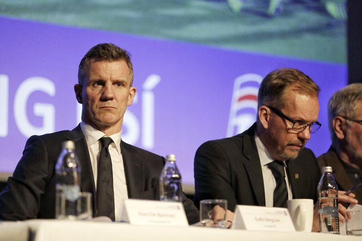 Guðni Bergsson, formaður KSÍ