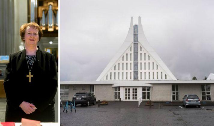 Séra Ólafur Jóhannsson, sóknarprestur í Grensáskirkju, er fyrrverandi formaður Prestafélags Íslands.