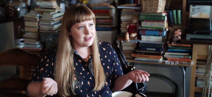 Grace Jane Claiborn-Barbörudóttir hefur búið á Íslandi í fimm ár.