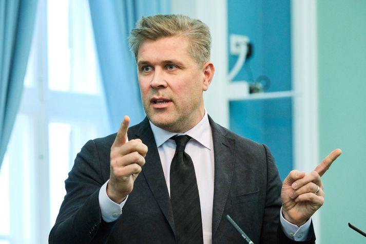Bjarni Benediktsson, fjármála- og efnahagsráðherra. Fréttablaðið/Anton Brink
