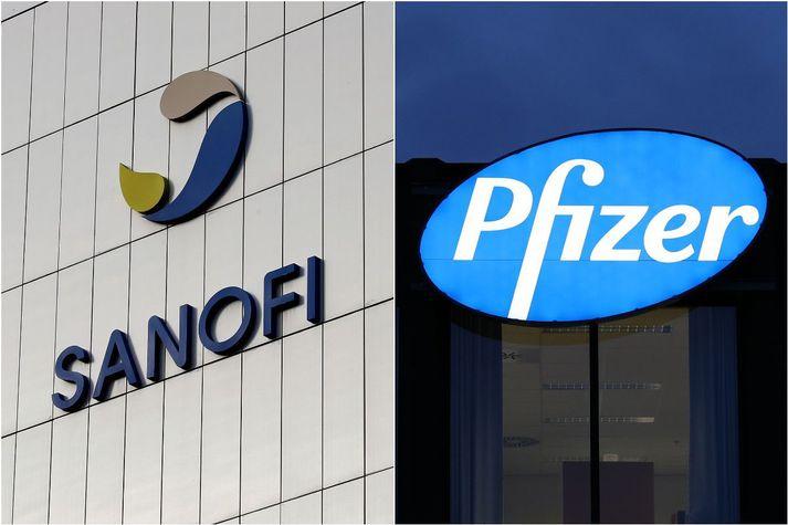 Sanofi hyggst framleiða hundrað milljón skammta fyrir Pfizer.