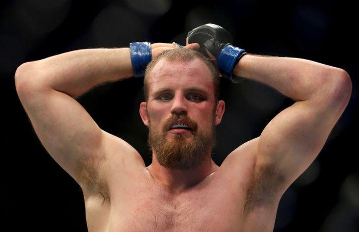 Það er skammt á milli í UFC-heiminum. Sigur á Leon Edwards hefði lyft Gunnari á listanum en nú er hann horfinn af honum.