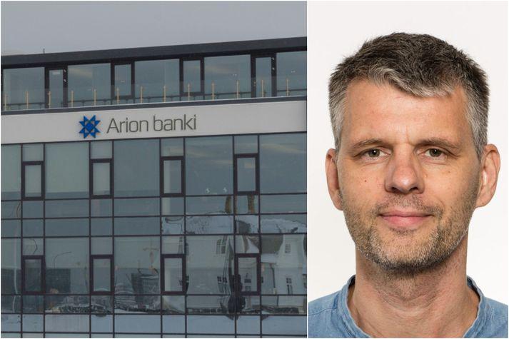 Arionbanki hefur haft samband við Grím Atlason og beðið hann afsökunar á milliinnheimtubréfinu.