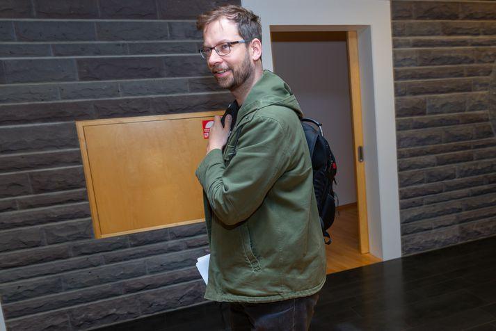 Björn Leví Gunnarsson gat ekki hugsað sér að Bergþór Ólason yrði formaður nefndarinnar.