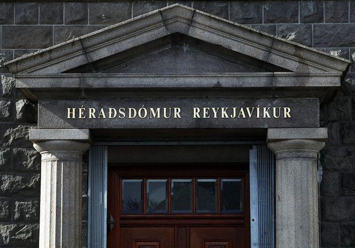 Héraðsdómur Reykjavíkur við Lækjartorg.