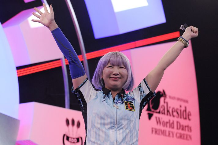Mikuru Suzuki er litríkur keppandi.