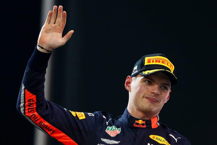 Verstappen hefur unnið átta keppnir síðan hann byrjaði að aka fyrir Red Bull 2016.