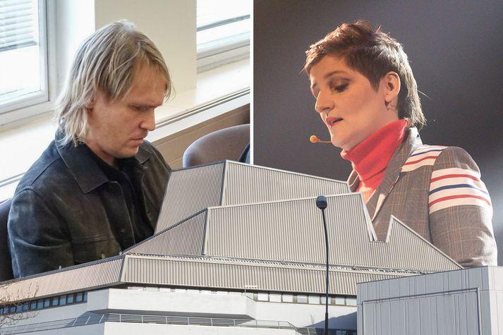Atli Rafn stefndi bæði Leikfélagi Reykjavíkur og Kristínu Eysteinsdóttur, þáverandi Borgarleikhússtjóra.