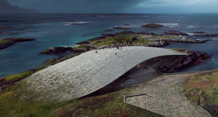 Um 50 þúsund manns hafa heimsótt Andenes á Andøya, sem er að finna um 300 kílómetra norður af heimskaustsbaug, á hverju ári síðustu ár.